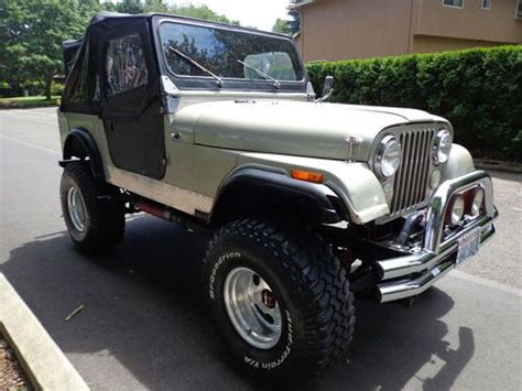 buy   jeep cj   speed  lifted offroad tires mags  reserve  reserve