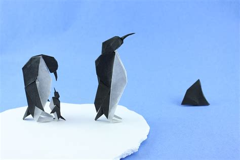 Folded Paper Animals - 20 awesome origami arctic animals