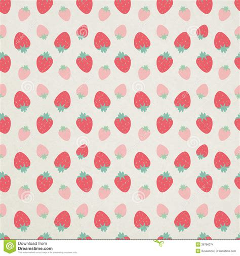 cute pattern paper cute seamless strawberry pattern stock images image