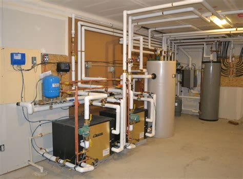 Geothermal Plumbing by Radiant Heat Boiler System Images