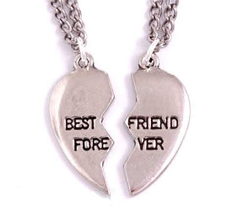 st justin broken best friends forever bff pewter