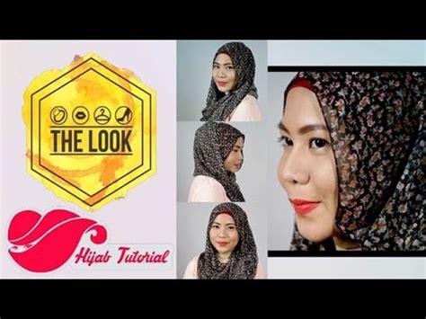 youtube tutorial hijab ala dewi sandra the look hijab tutorial casual hijab look ala dewi