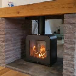 Sided Wood Burning Fireplace by V12 Sided Woodburning Stove Fireplace Store