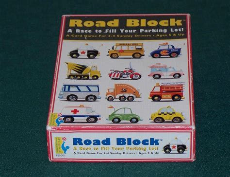 Roadblocks Gift Card - road block card game international playthings complete other