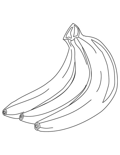 coloring page for banana banana coloring pages az coloring pages