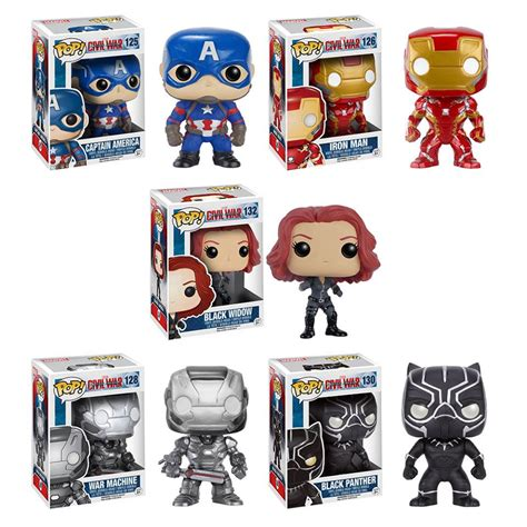 Funko Iron Civil War an explosion of captain america civil war pops and dorbz pop price guide