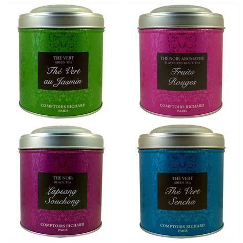 comptoir richard tea doos met deze print tea comptoirs richard caf 233 s richard