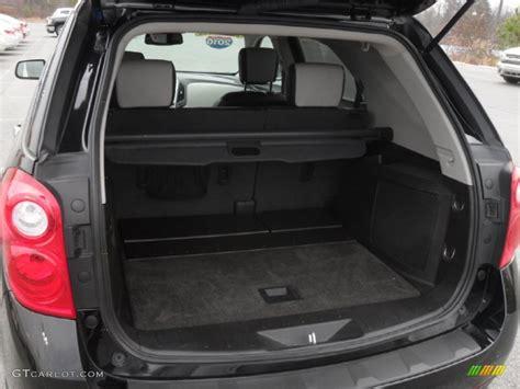 chevrolet equinox trunk space image gallery 2011 equinox trunk
