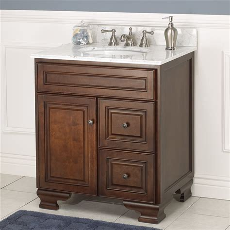 30 Inch Bathroom Vanities by Hawthorne 30 Inch Walnut Bathroom Vanity Burroughs