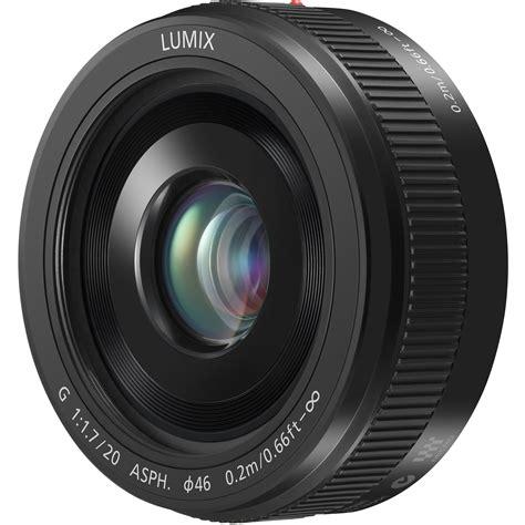 Panasonic Lumix 20mm F 1 7 Asph panasonic lumix g 20mm f 1 7 ii asph lens black h