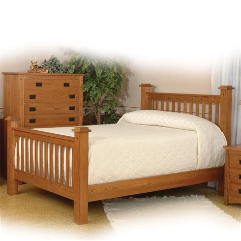 mission bedroom set amish simply mission bedroom collection