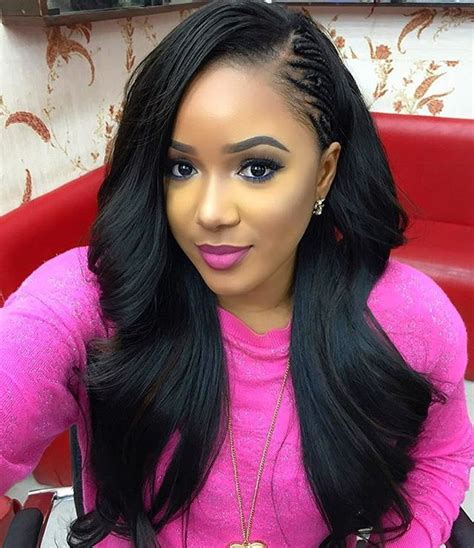 do people with long hair get sew ins 1000 ideas about sew in hairstyles on pinterest weave