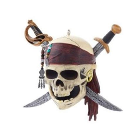 pirates of caribbean christmas ornament cool stuff to