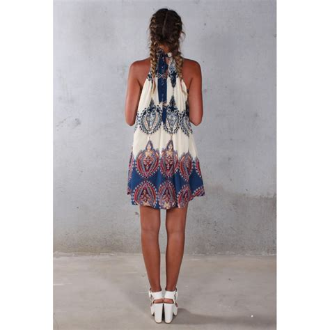 Fashion Dress Wanita Mbm 31 dress pantai wanita summer style size l beige