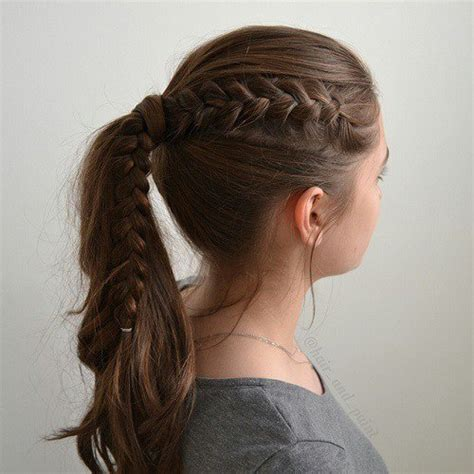 styles of pony for women with puff 59 easy ponytail hairstyles for school ideas hairstyle