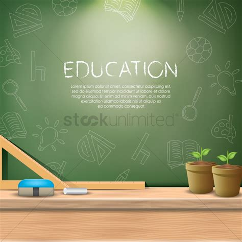 education wallpaper education wallpaper vector image 1821872 stockunlimited