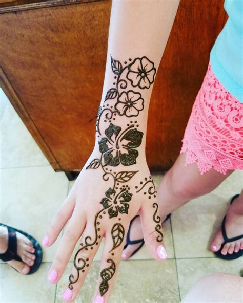 hawaiian henna tattoos henna designs hawaiian makedes
