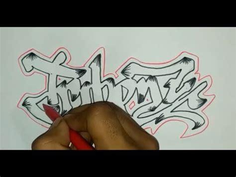 cara membuat outline graffiti trik cara membuat graffiti untuk pemula youtube