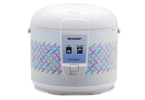 Rice Cooker Sharp Ks N18me L rice cooker ks n18me l c terbaik dari sharp untuk menghangatkan dan menanak nasi dengan sempurna