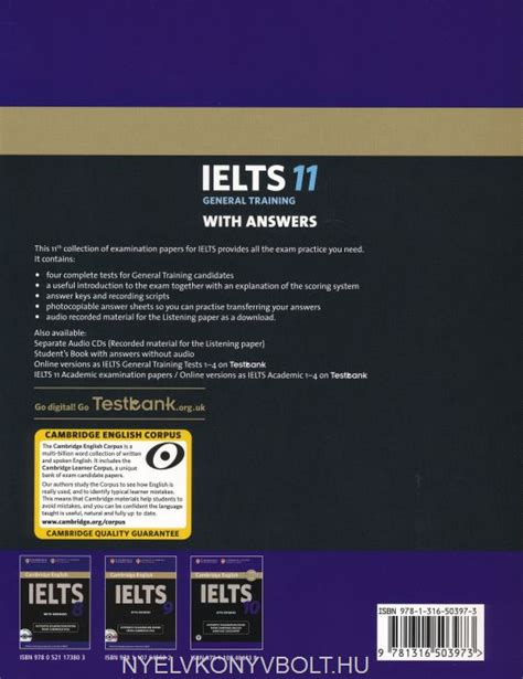 Buku Cambridge Practice Ielts 11 General Trainig Cd cambridge ielts 11 official examination past papers general student s book with answers with
