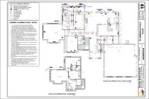 In Addition Plans 44 Floor Plans For Plumbing Plumbing Plan Architecture 2