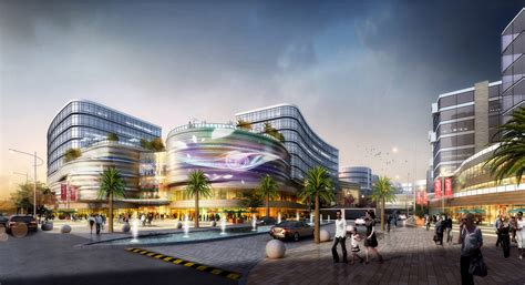 UA Studio 7 and Aedas' Central Business District for Hongqiao Airport Now Underway ArchDaily
