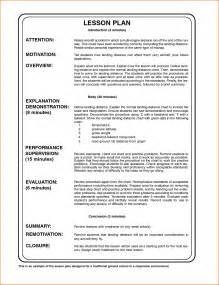 Business Letter Format Lesson Plan sample lesson plan template