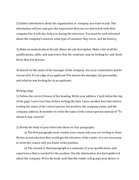 writing a cover letter to a company how to write a cover letter for a resume