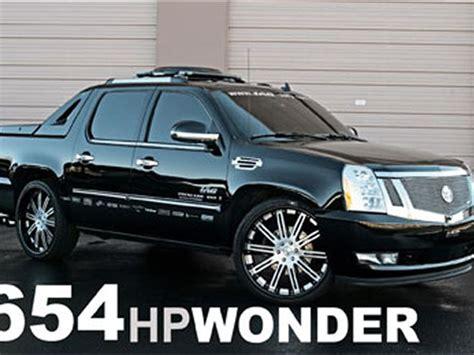 Custom Cadillac Escalade Ext by 2007 Cadillac Escalade Ext Iag Custom Cadillac Truckin