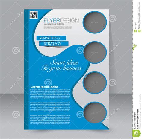 editable poster templates brochure design flyer template editable a4 poster stock