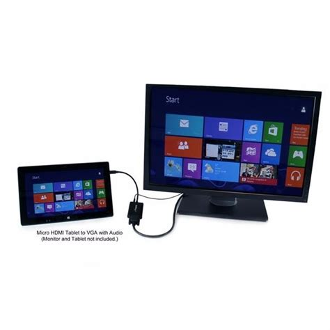 tablet con ingresso hdmi cable adaptador hdmi a vga audio para surface rt surface