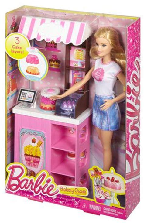Boneka Mattel Bakery Owner Playset bakery owner doll playset walmart ca