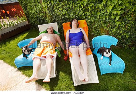 backyard bbw fat suit women stock photos fat suit women stock images