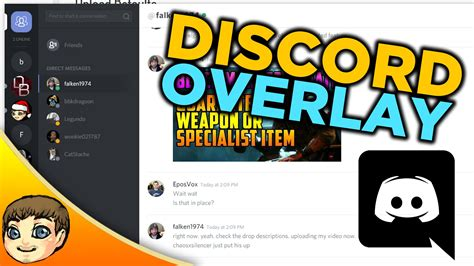 discord keybinds not working in game best in game chat discord game overlay tutorial youtube