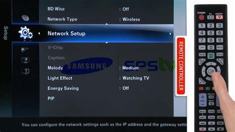 Tv Samsung Wifi How To Use Samsung Wireless Linkstick With Samsung Led Tv