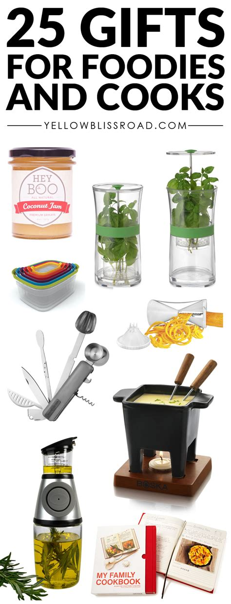 gift ideas for cooks 25 gift ideas for foodies and cooks to fit every budget