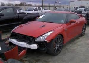 Salvage Nissan Gtr Export Salvage 2014 Nissan Gt R Premium On Black