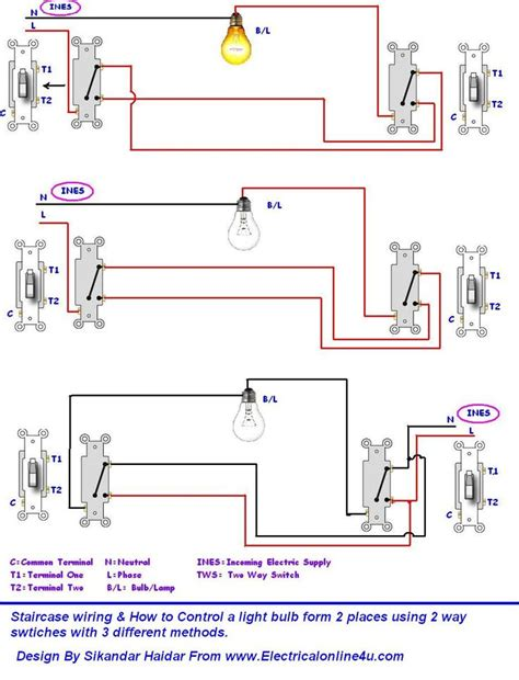 automatic staircase light circuit 7 best wiring images on pinterest circuits electrical