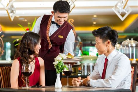 image gallery waiter serving
