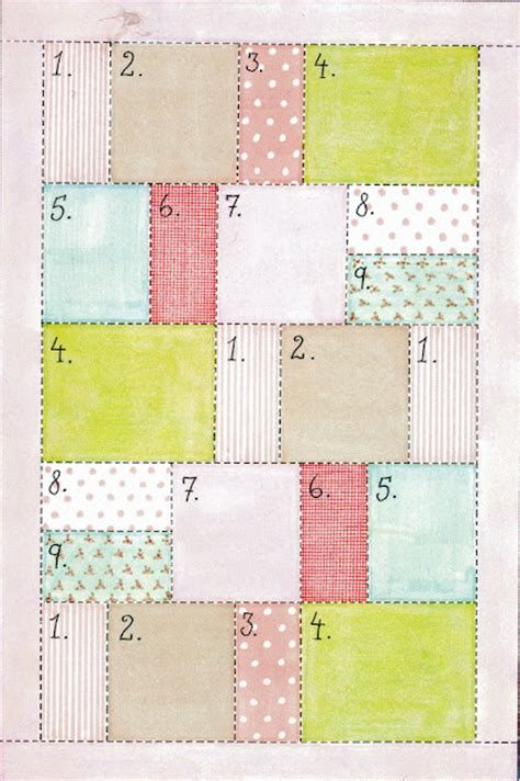 Quilt Patterns Simple by Easy Quilt Pattern
