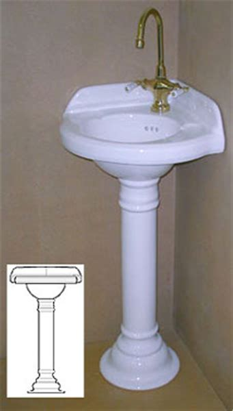 corner pedestal sinks for bathrooms corner pedestal sinks for small bathrooms corner sink