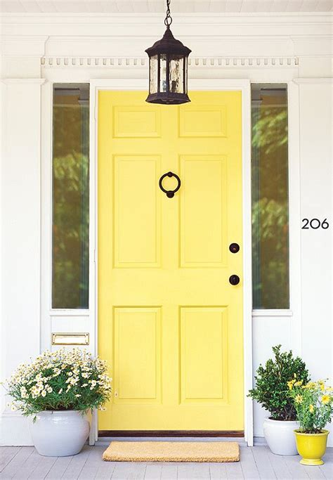 Yellow Front Door The 8 Best Paint Colors Of The Year One