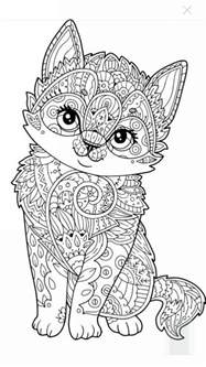 cat coloring pages for adults 627 best images about colouring cats dogs