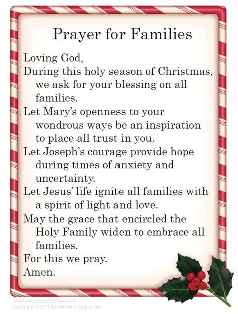 prayer  families christmas prayer prayer  family christmas blessings