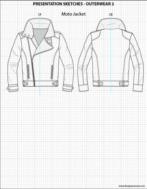 illustrator template artist sketch cards mens flat fashion sketch templates my practical skills