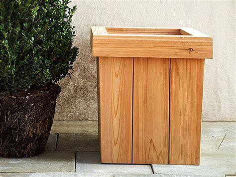 wood box planter plans plans table plans events