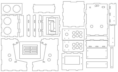 Bartop Arcade Blueprints Small Arcade Cabinet Plans Plans Diy Free Antique