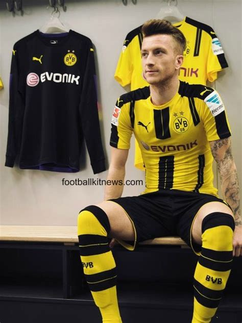 Jersey Dortmund Away 2016 2017 new borussia dortmund jersey 2016 17 bvb home kit