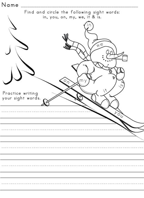seasons and celestials an coloring book books sight word worksheet