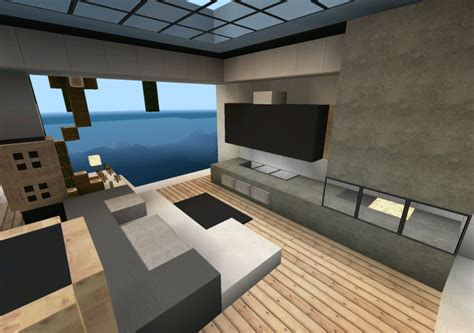 modern minecraft mansion living room by thefawksyartist on modern mansion for minecraft android apps on google play
